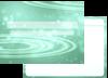 波紋(緑)