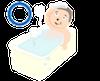 入浴(血行促進)